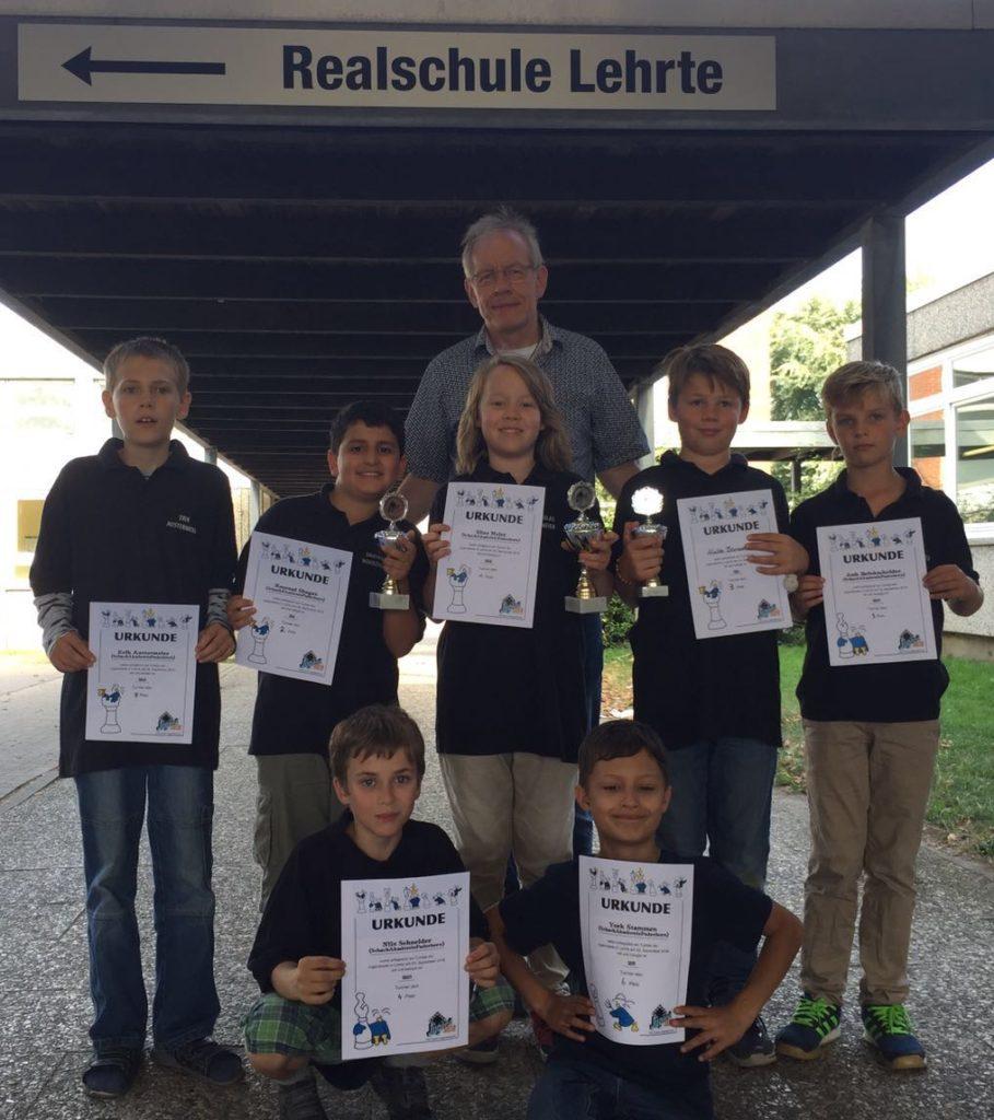 Turnier der Jugendserie in Lehrte mit 7 unserer Kinder